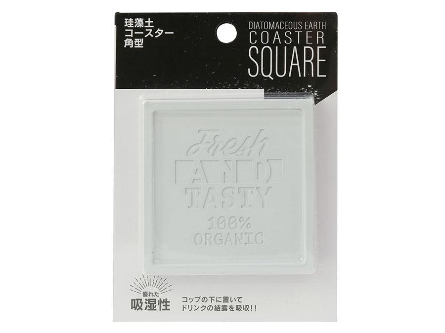Miếng lót ly siêu thấm nước Hình vuông (Giao màu ngẫu nhiên)