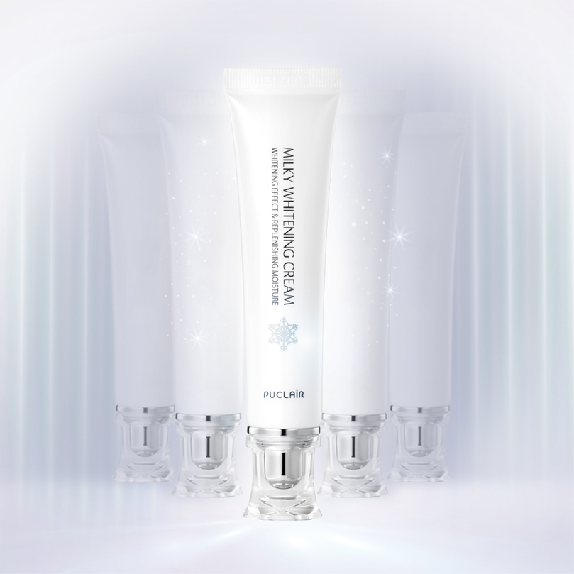Kem dưỡng da sáng mịn cấp ẩm dưỡng mềm da trắng hồng, chống nắng bảo vệ da do tia UV Puclair Milky Whitening Cream, Hàn Quốc 30ml