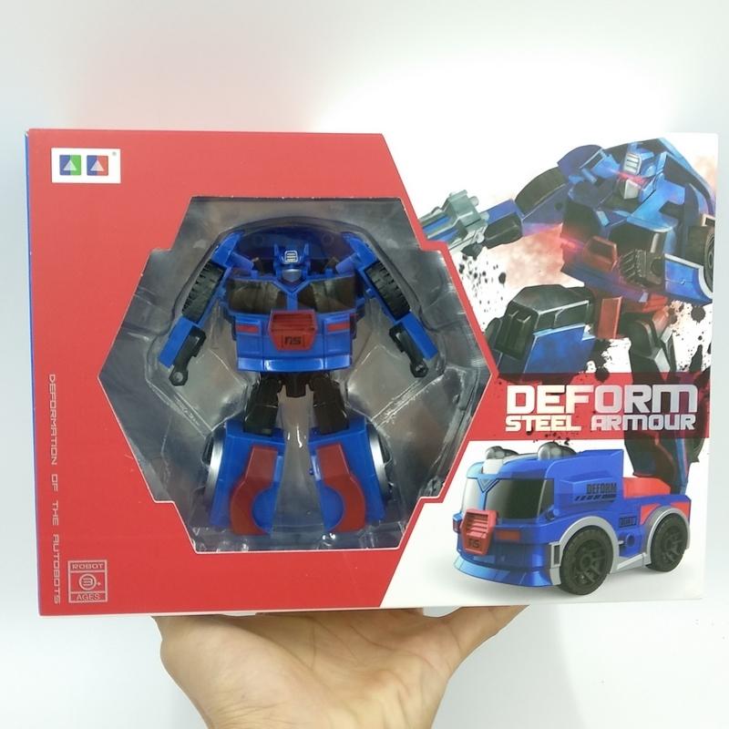 Đồ Chơi Robot Biến Hình Siêu Xe Màu Đỏ Boy Toys - AB-19A
