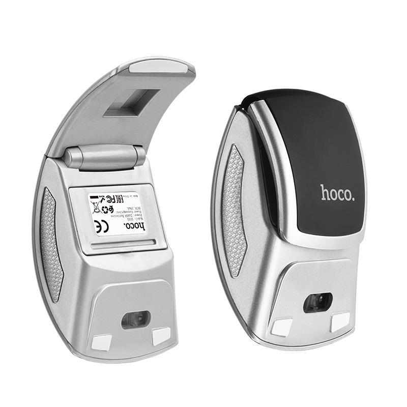 Chuột Bluetooth không dây Hoco cổng kết nối USB 2.0 thiết kế ốp lòng tay chống mỏi sử dụng thoải mái - Hàng chính hãng