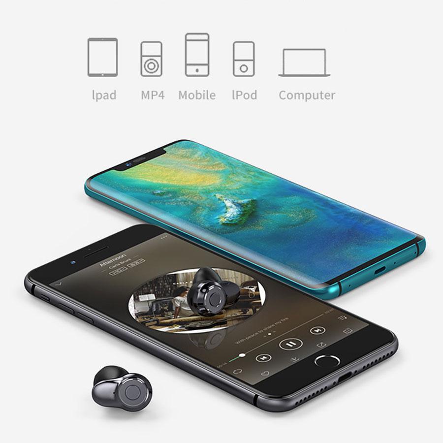 Tai Nghe True Wireless A6 Bluetooth TWS 5.0
