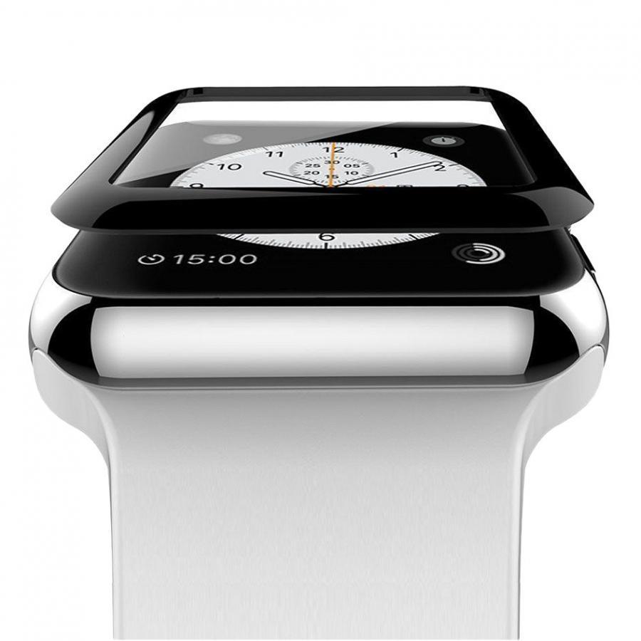 Miếng Dán Cường Lực Vmax Cho Apple iWatch / Apple Watch 42 mm Full keo - Hàng Chính Hãng
