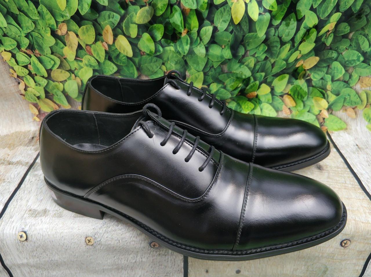 Giày tây nam sang trọng lịch lãm quí phái -gl52 - đen - 38