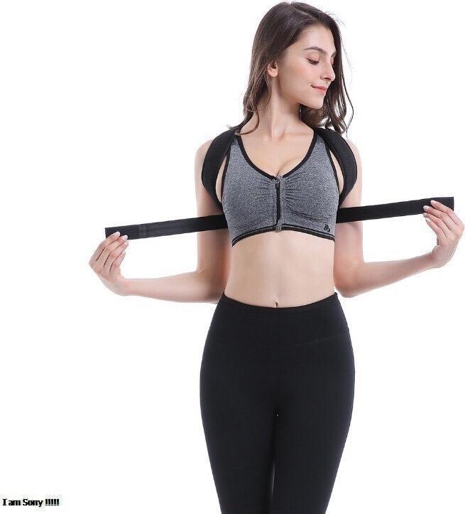 Đai chống gù lưng nam nữ posture corrector  [tặng kèm 2 tấm trợ lực]