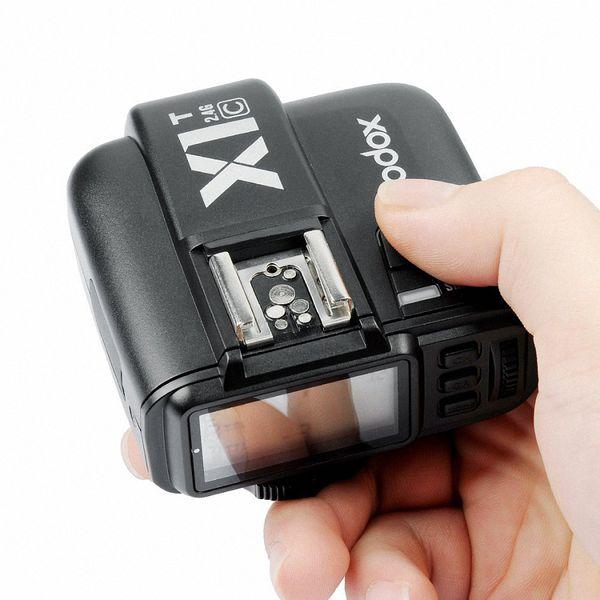 Điều khiển đèn Godox X1T-S -TTL 2.4G Wireless Flash Trigger cho Sony MI Shoe - Hàng nhập khẩu