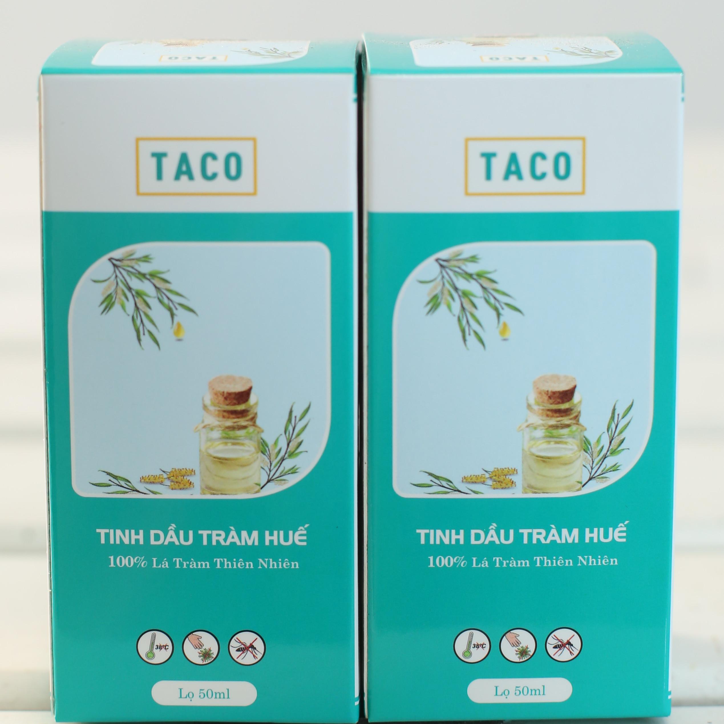 Combo 2 Chai Tinh Dàu Tràm - TACO