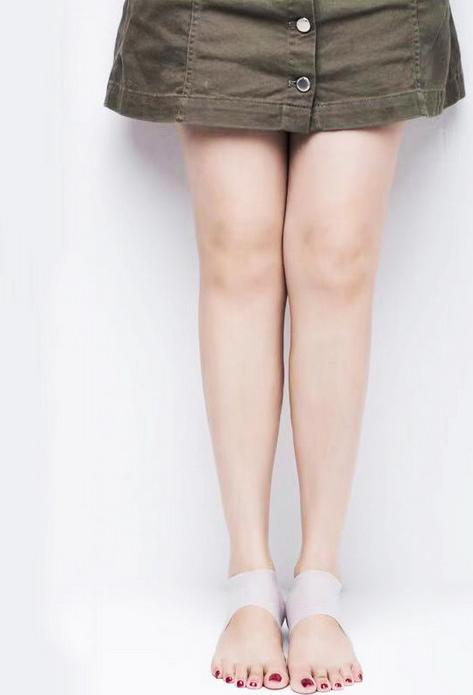 Vớ tất silicon đệm gót chân tăng chiều cao 3cm