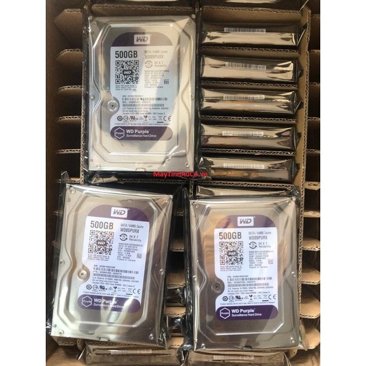 Ổ cứng HDD WD 500GB - Hàng chính hãng