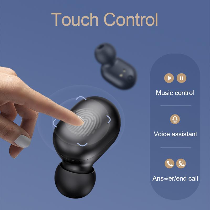 Tai Nghe Bluetooth True Wireless Haylou GT1 Pro Bluetooth 5.0 ( Phiên Bản Nâng Cấp Haylou GT1) - Hàng Chính Hãng | Tiki
