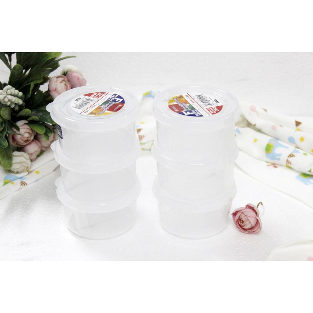 Bộ 2 hộp đựng đồ ăn nhanh bằng nhựa PP an toàn sức khỏe 540mL - Hàng Nhật nội địa