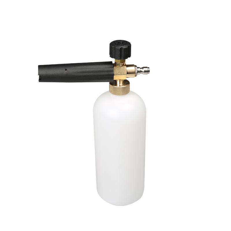 Bình xà phòng phun bọt tuyết dùng cho máy bơm xịt rửa ô tô đầu nối nhanh ( đầu S11)
