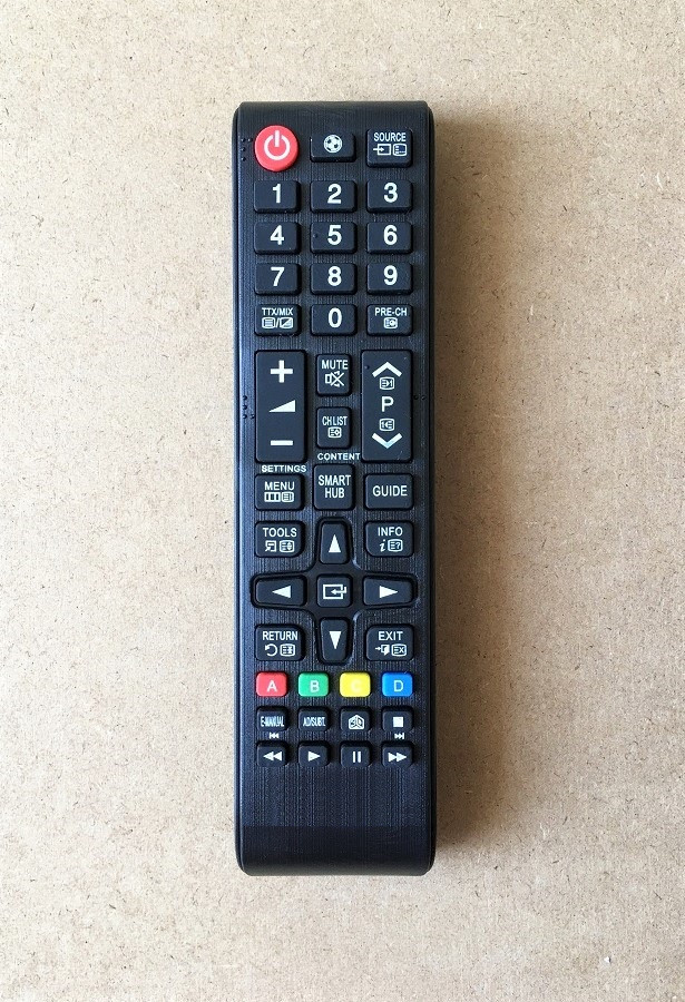 Remote Điều Khiển Dành Cho Smart TV, Tivi Thông Minh SAMSUNG UN32J4500AF, UN50J520DAF, UN65JU640DAF - SMARTHUB