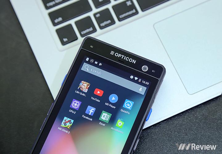Máy quét mã vạch Opticon H-28 PDA Android (4G -  Hàng chính hãng)