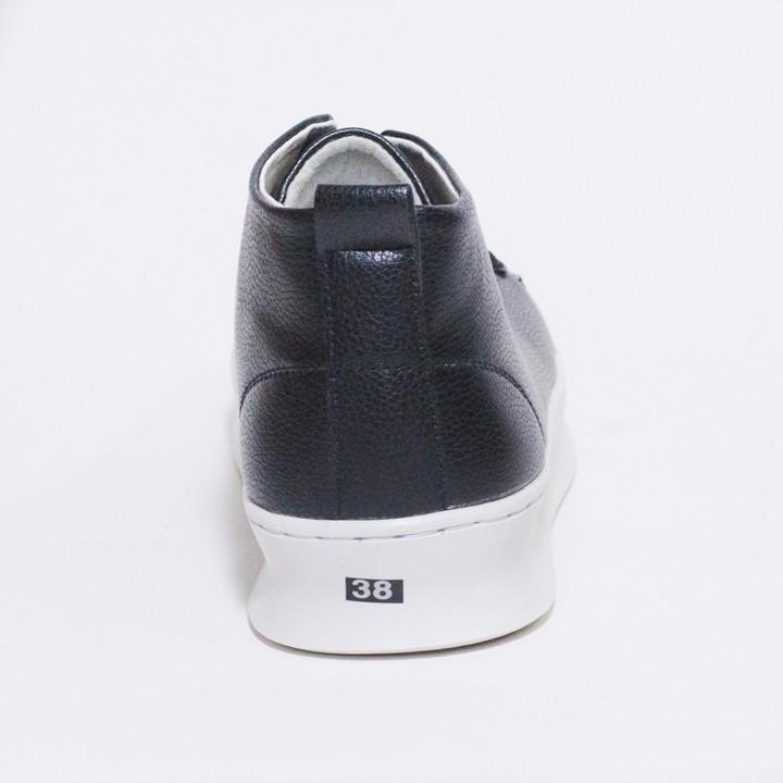 Giày Thể Thao Nam Cổ Lửng Màu Đen Đế Khâu Chắc Chắn Rất Năng Động - T447-DEN(V)-DEN