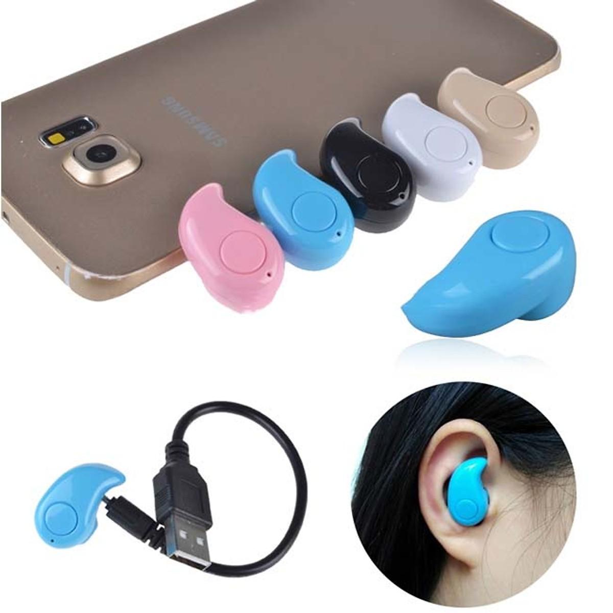 Bút trình chiếu, bút thuyết trình, chiếu slide kèm hộp đựng bút tặng tai nghe Bluetooth nhét tai hạt đậu S530