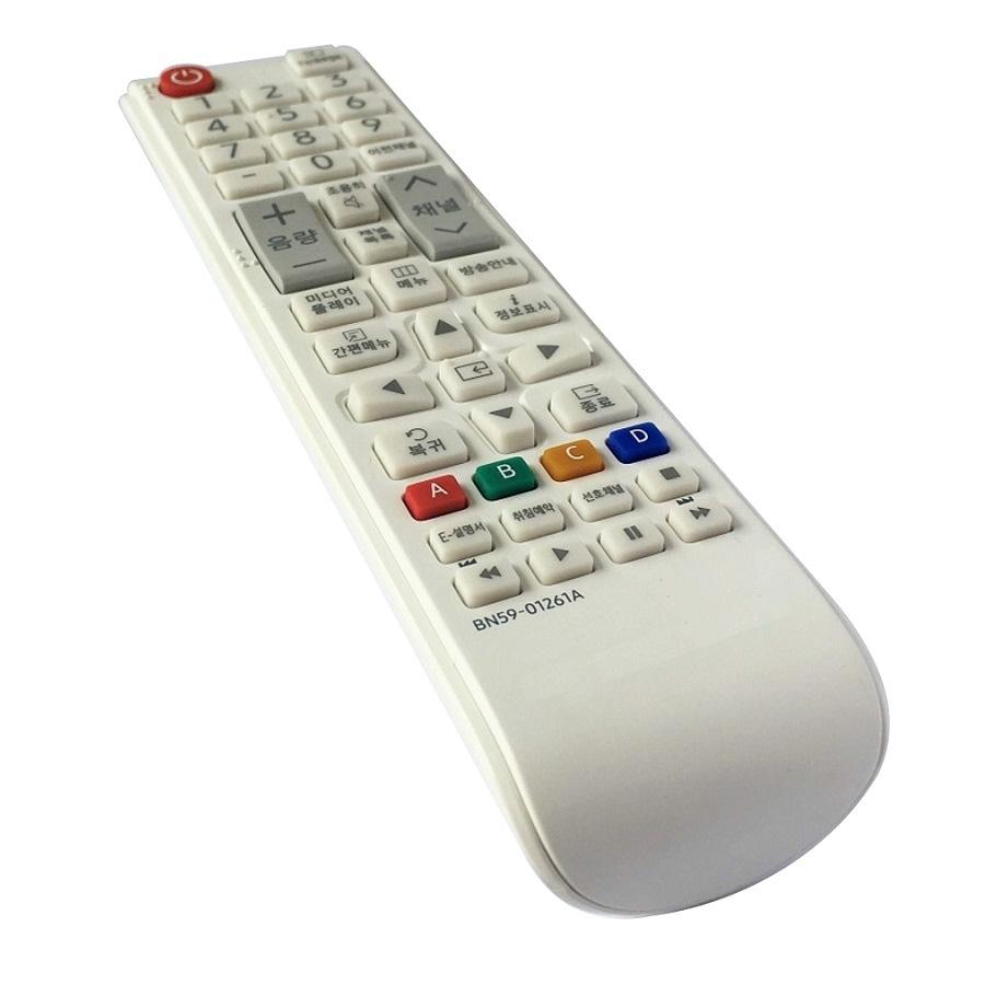 Remote Tiếng Hàn Điều Khiển Cho TV LCD, TV LED SAMSUNG BN59-01261A (Kèm Pin AAA Maxell)