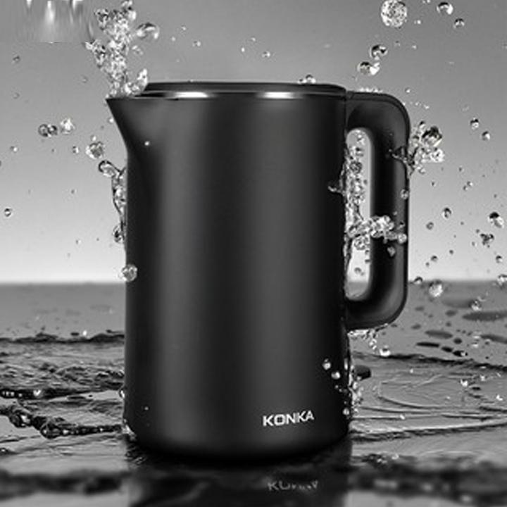 Ấm siêu tốc KONKA KEK-KM18 (1,8l) đun nước nhanh tự ngắt khi sôi - Hàng nhập khẩu