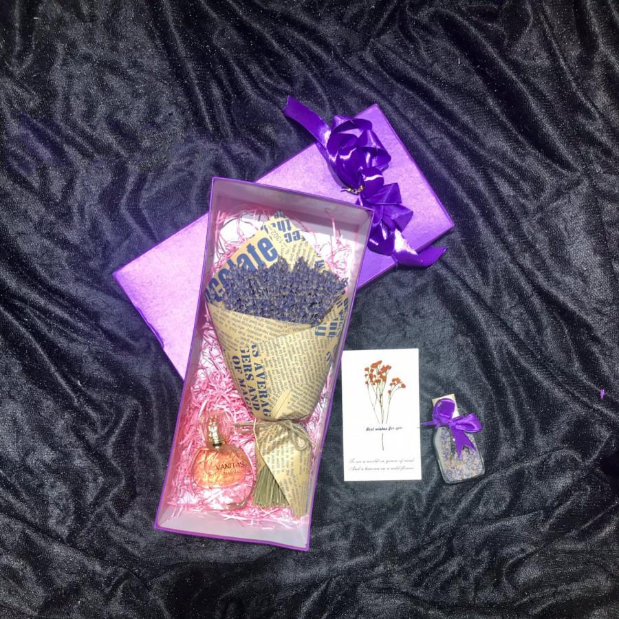 Set quà hoa lavender khô Pháp - Mẫu 38