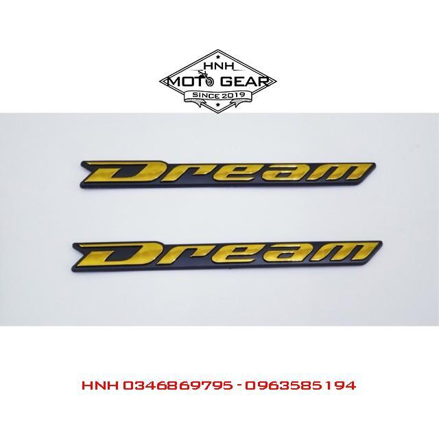 Tem Chữ Nổi Cho Honda Dream II