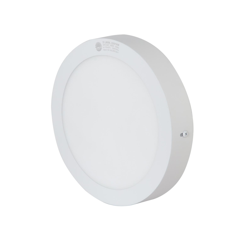 Đèn led ốp trần cảm biến 24W Rạng Đông, Model D LN09L 300/24W RAD   - Hình tròn  - Ánh sáng trắng