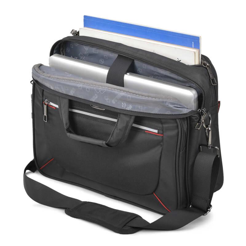 Cặp công sở Mr Vui CSV404 thời trang cho nam và nữ, có ngăn laptop 14 inch (38 x 30 x 12 cm)