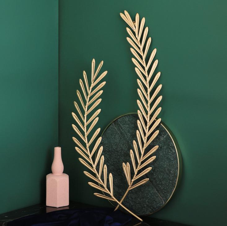 Trang trí tường lá Nguyệt Quế ARTWALL GOLDEN ECLIPSE