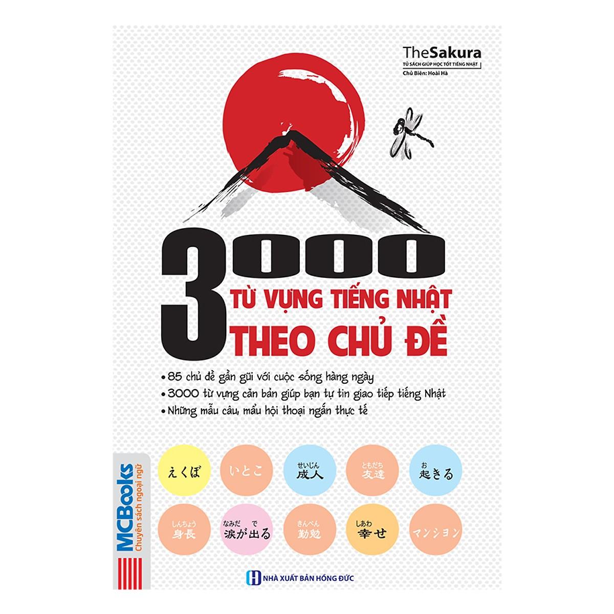 3000 Từ Vựng Tiếng Nhật Theo Chủ Đề Tặng Kèm Postcard Những Câu nói Hay của Người Nổi Tiếng