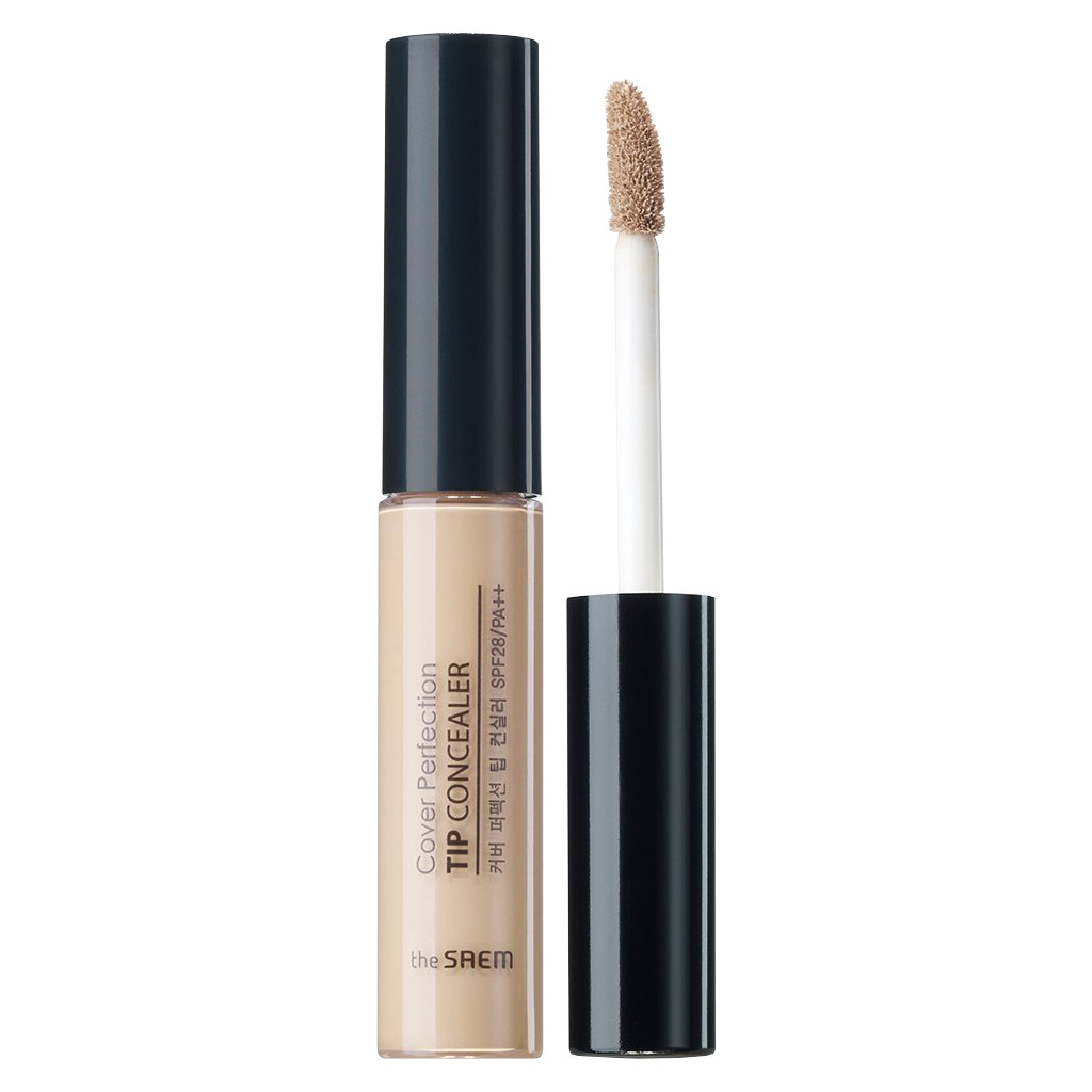 Che Khuyết Điểm The Saem Cover Perfection Tip Concealer Tone 02 (Rich Beige)
