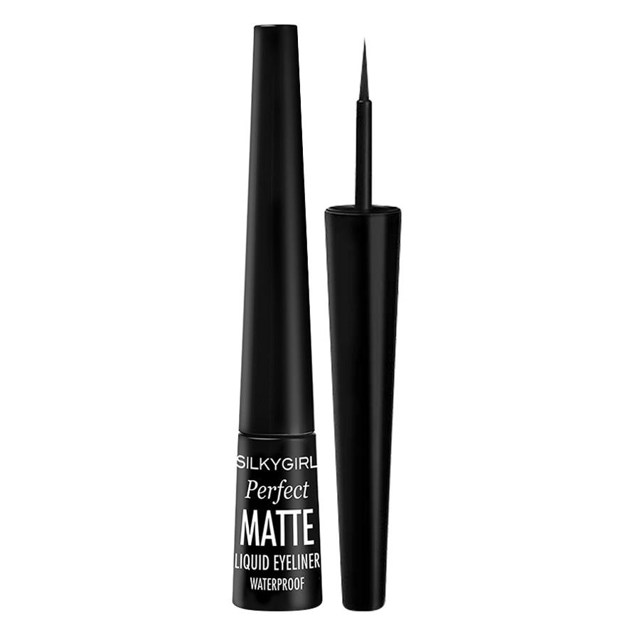 Kẻ Mắt Nước Silkygirl Perfect Matte Liqid Eyeliner GE0235-01 (2.5ml)