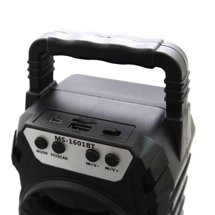 Loa Bluetooth Xách Tay MS-1601BT thiết kế thời trang mang đến một phong cách âm nhạc hoàn toàn mới cho giới trẻ