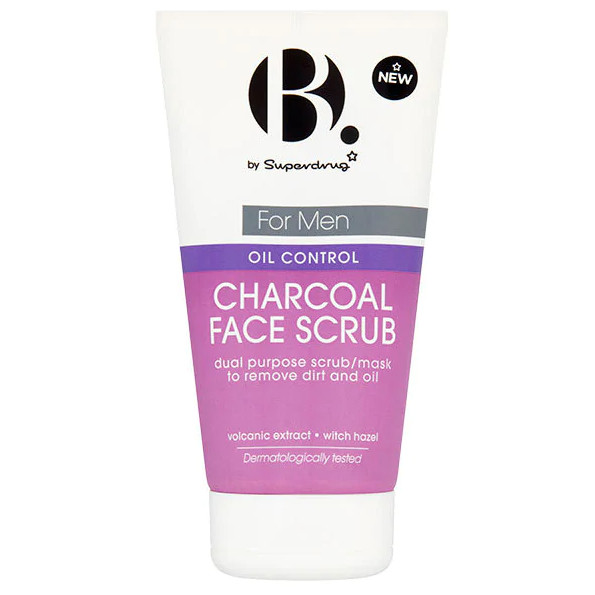 Tẩy da chết dành cho nam B.Men Oil Control Charcoal Face Scrub 150ml