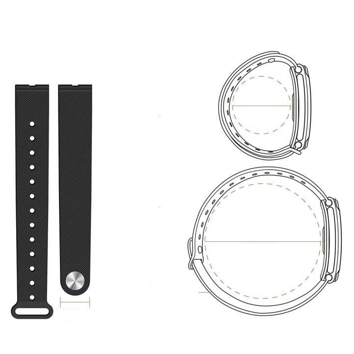 Dây Thay thế cho Q-Band Q69HR New - Màu Đen - Hàng chính hãng