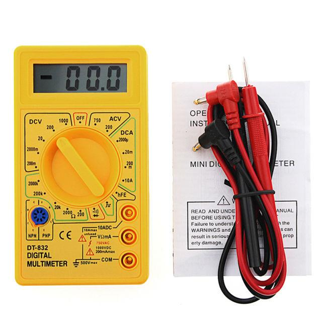 Đồng hồ đo vạn năng sữa chữa cho thợ điện tử DT-832