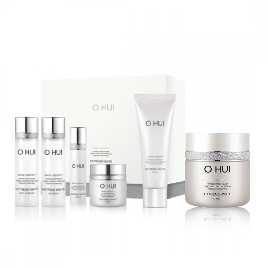 Bộ dưỡng trắng toàn diện OHUI Extreme White Cream 50ml và Special Set 90ml