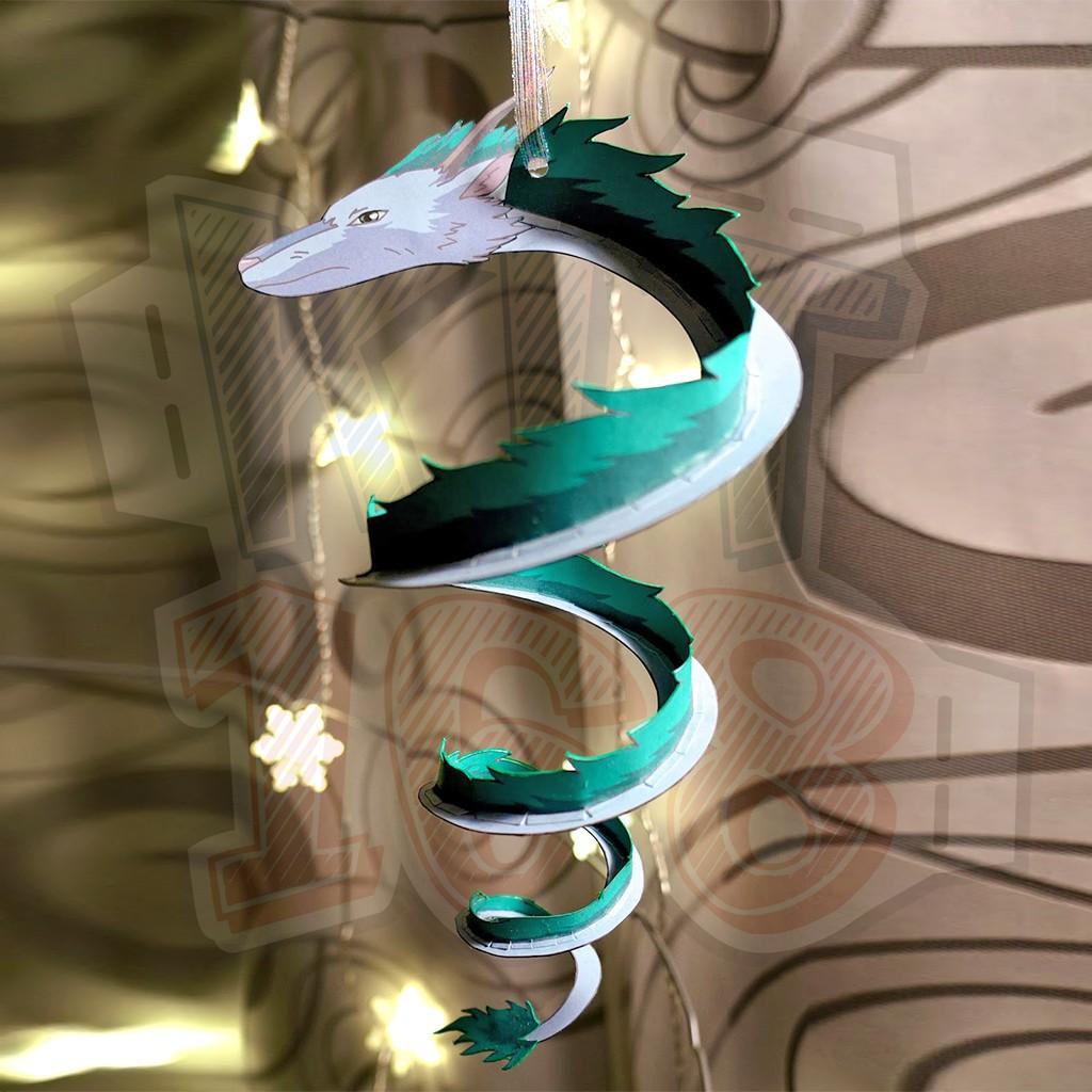 Mô hình giấy Anime Dragon Haku - Spirited Away