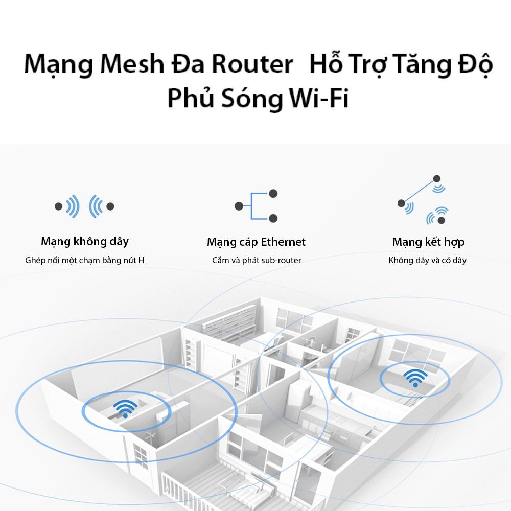 Bộ định tuyến HUAWEI WiFi AX3 (CPU 2 nhân) | 3000 Mbps | Wi-Fi 6+ | Công nghệ đa người dùng OFDMA | Hàng Phân Phối Chính Hãng