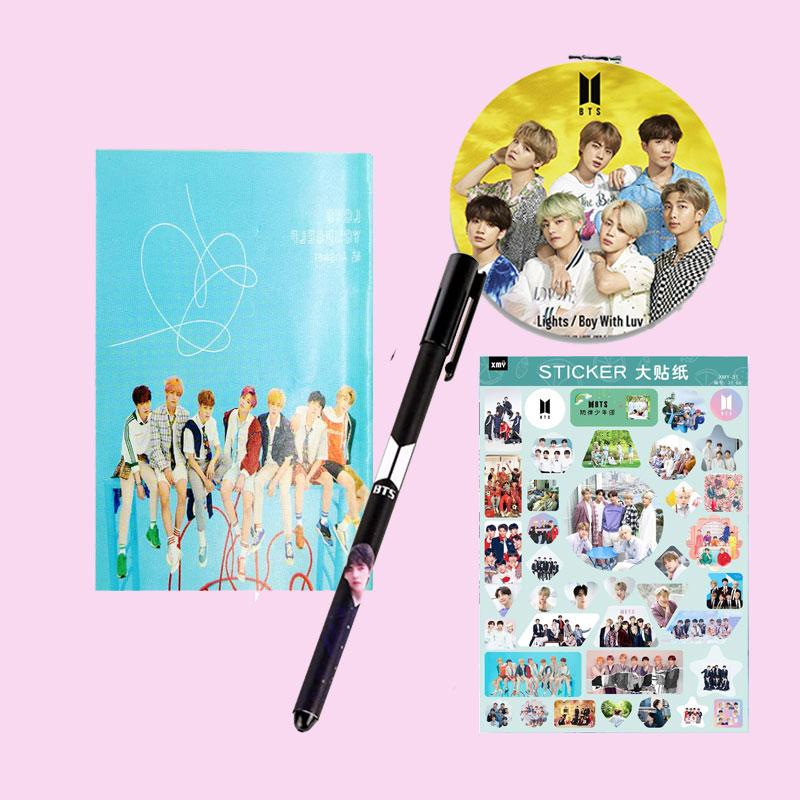 Combo BTS tặng Sticker BTS