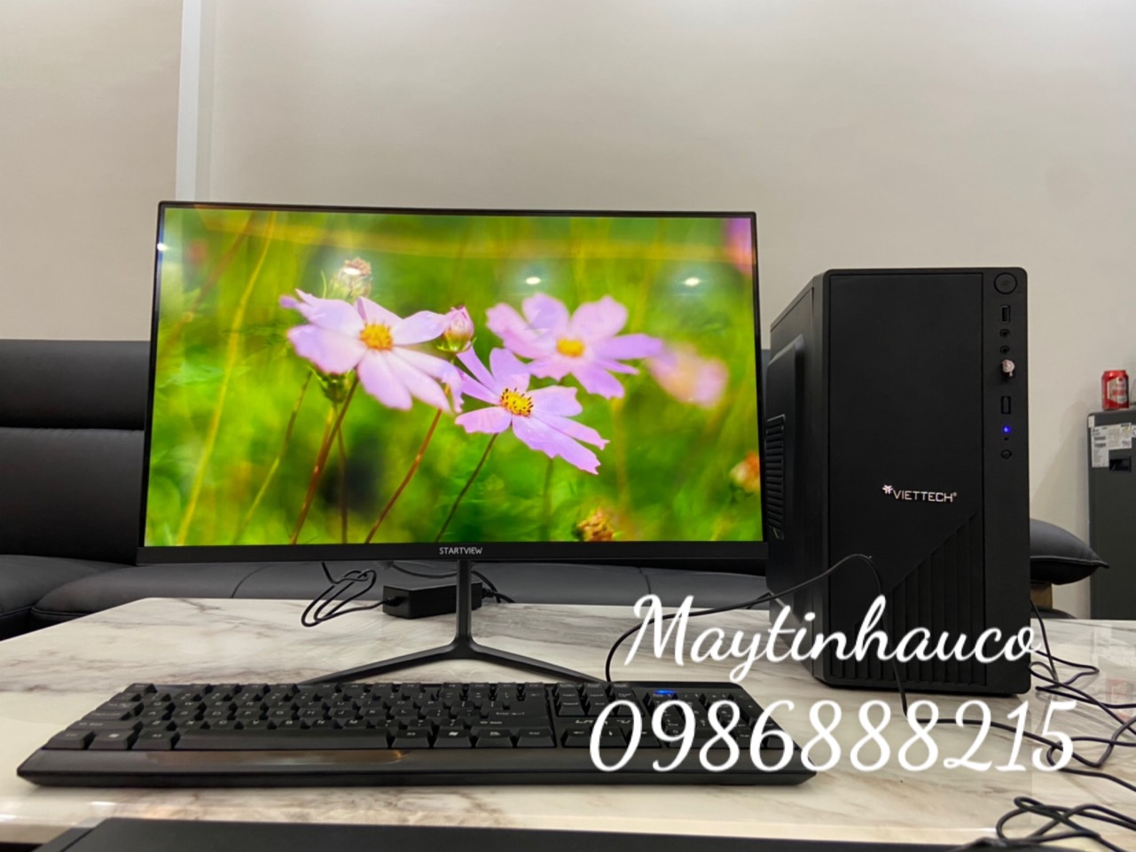 Máy tính để bàn Modell Viteck ( Core i5 - 4570(3.60 Ghz) / Ram 8Gb / SSD 120GB) Chuyên dùng cho Bán Hàng - Văn Phòng - Sinh Viên - Hàng Chính Hãng