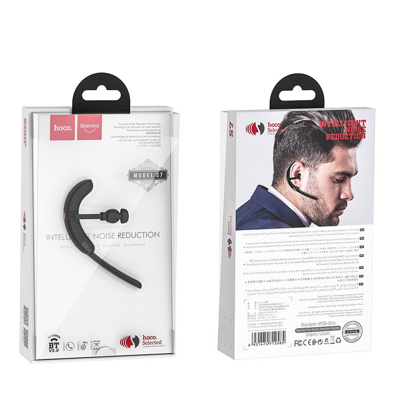 Tai Nghe Không Dây Bluetooth Hoco S7 Có Micro - Hàng Chính Hãng