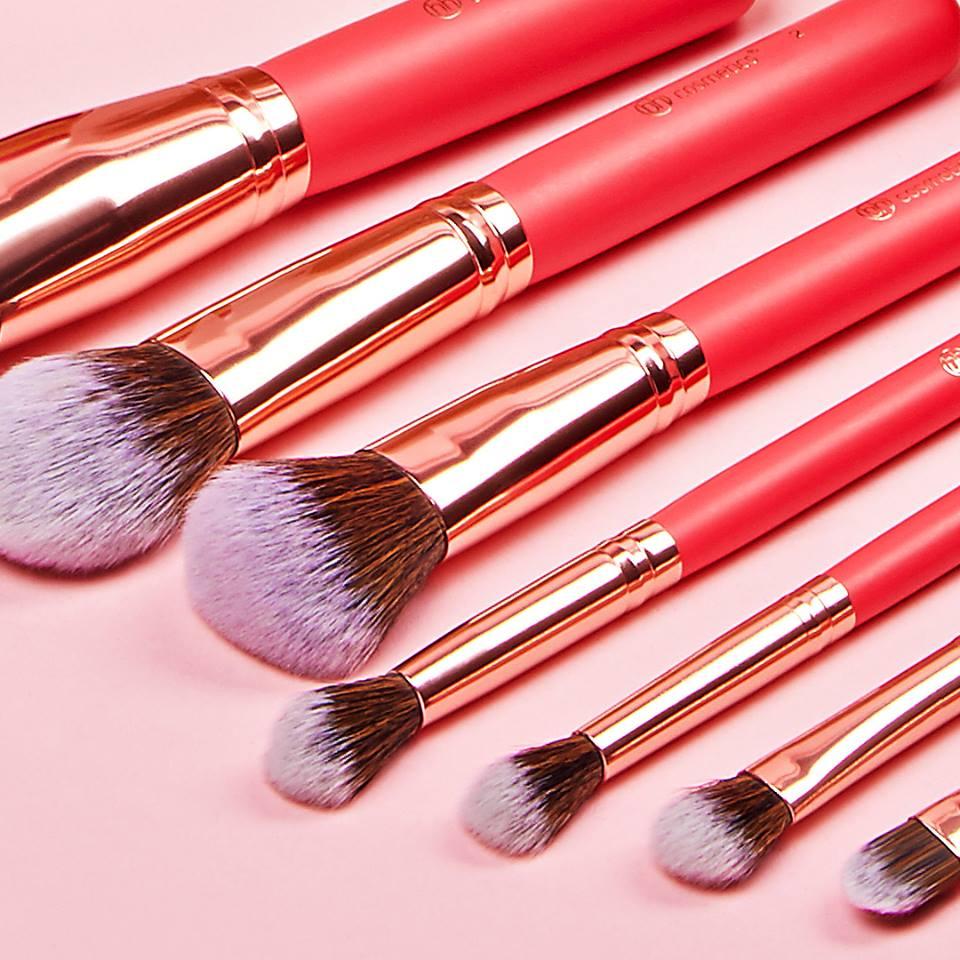 Set Cọ 10 Cây BH Cosmetics Bombshell Beauty Brush Set - KÈM TÚI NHUNG