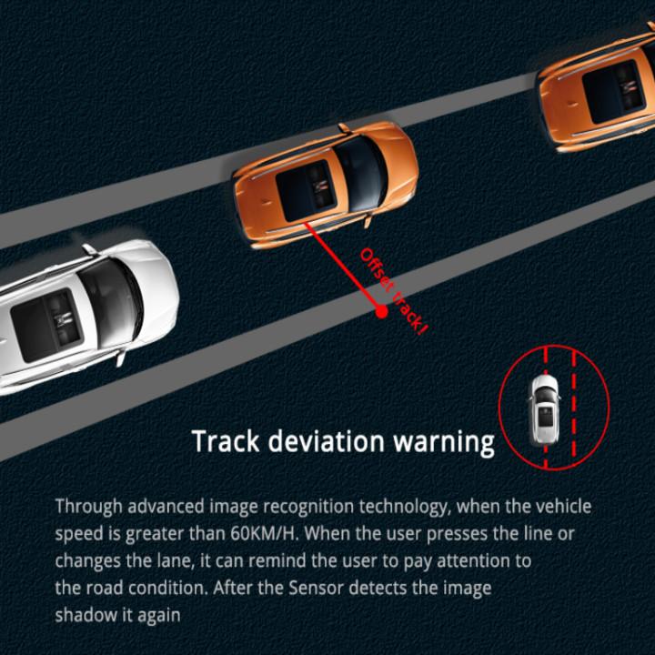 Camera hành trình đặt taplo ô tô nhãn hiệu Phisung P03 tích hợp cam lùi, 4G, Wifi, màn hình cảm ứng 8 inch - Hàng Nhập Khẩu