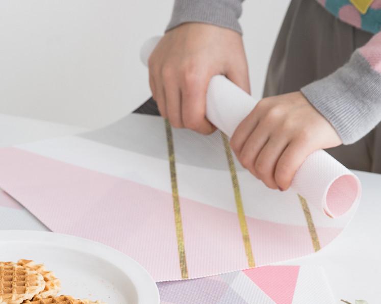 Tấm lót bàn ăn Placemat Smile Pink