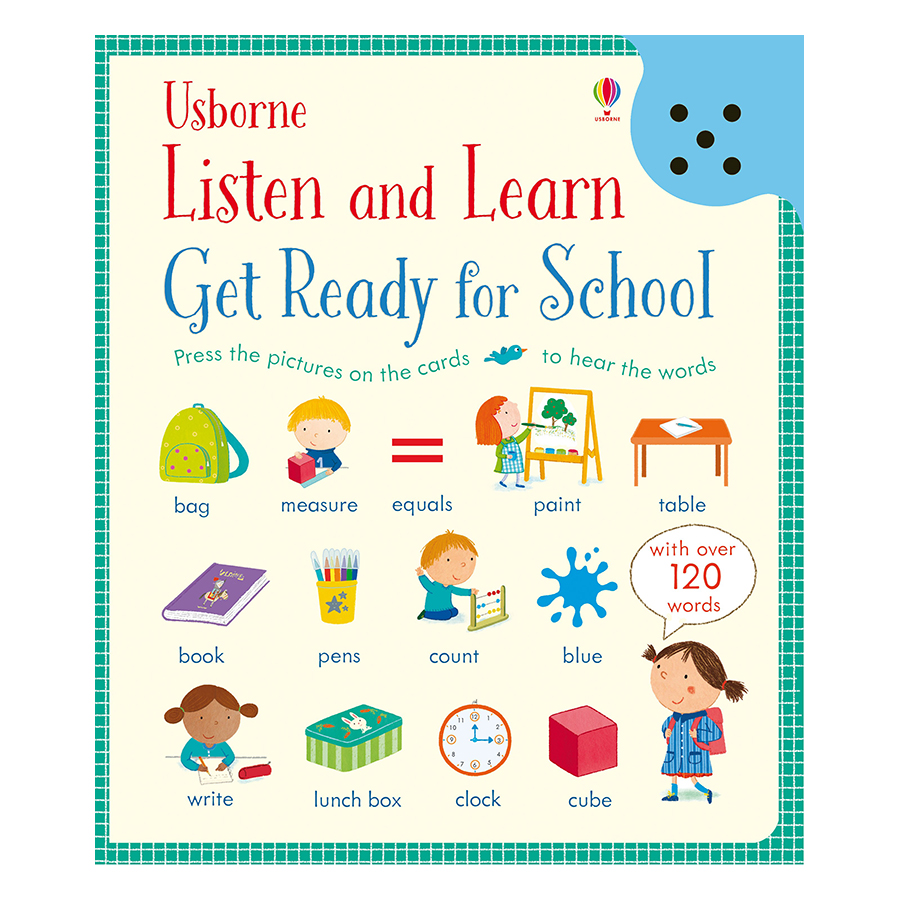 Usborne Listen And Learn Get Ready For School