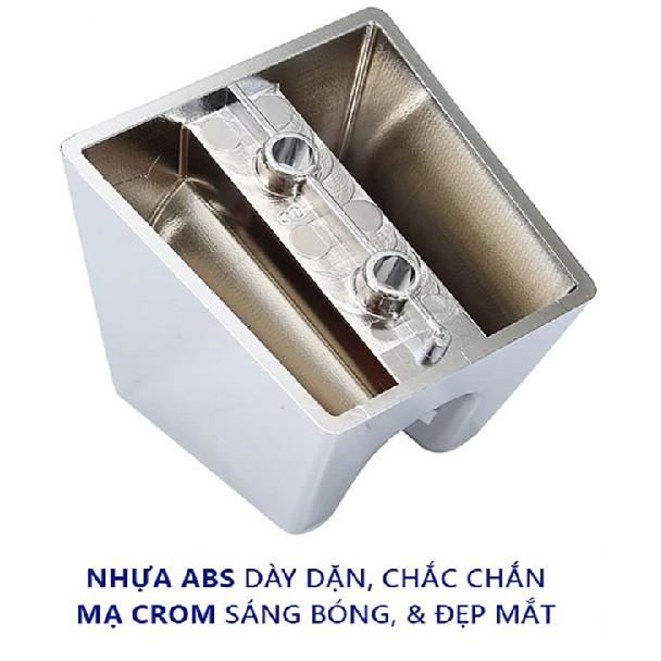 Bộ xịt vệ sinh đồng mạ chrome cao cấp-dây xịt 3 lớp chống bục