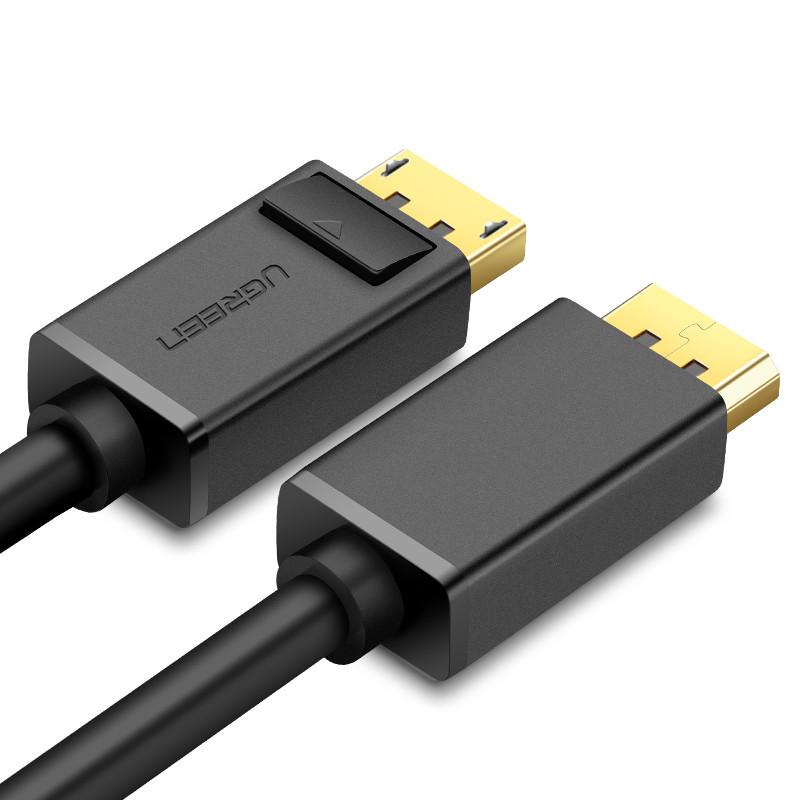 Dây cáp DisplayPort 2 đầu đực tốc độ 21.6Gbps dài 1.5M UGREEN DP102 10245 - Hàng Chính Hãng