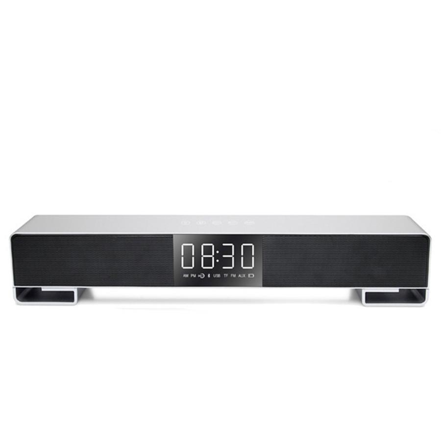 Loa bluetooth IFKOO F4 để bàn/máy tính/tv Blutooth có đồng hồ LED