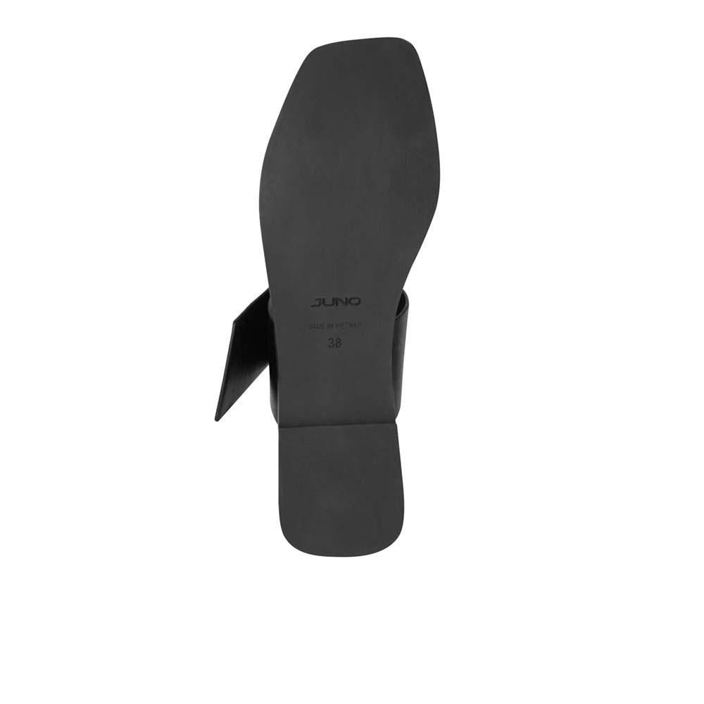 Giày sandal hở gót quai ngang Juno SD01091
