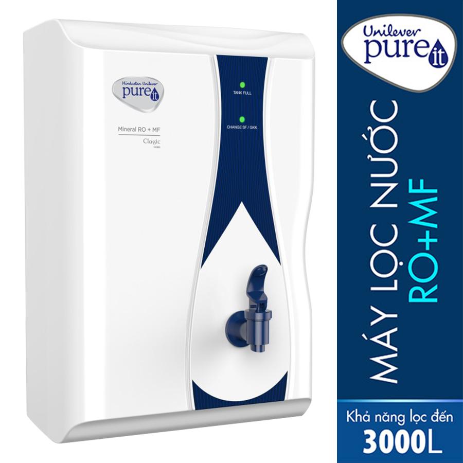 Máy Lọc Nước Unilever Pureit Casa Lọc Nguyên Khối Tích Hợp Công Nghệ RO + MF - Hàng chính hãng