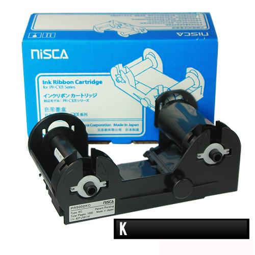 Ruy băng mực đơn sắc đen RESIN K Nisca PR-C101 - Hàng Chính Hãng