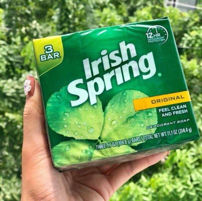 LỐC 3 CỤC XÀ BÔNG CỤC IRISH SPRING ORIGINAL 314.4g